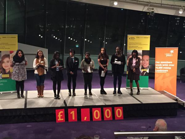 Youth Forum Win at City Pitch!