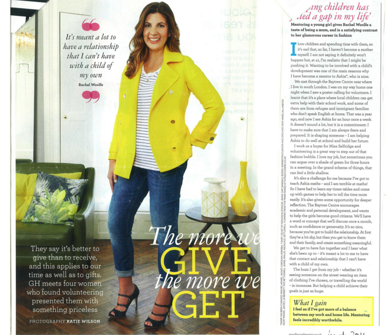 Baytree in Good Housekeeping Magazine