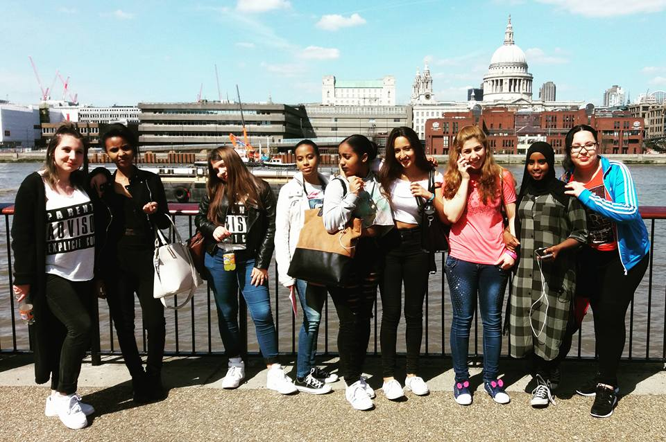 Into School's trip to the Tate Modern and South Bank