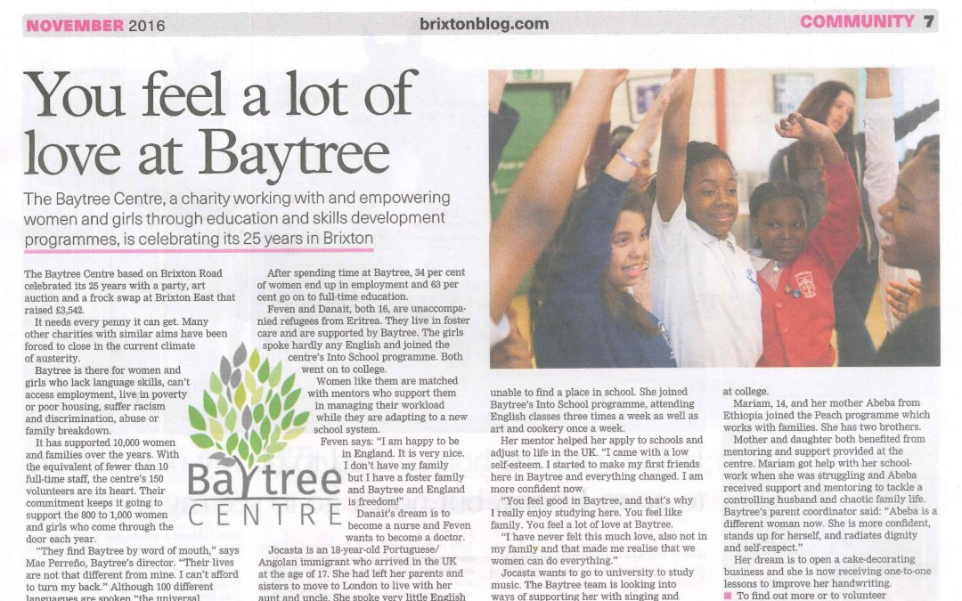 Baytree in the Brixton Bugle