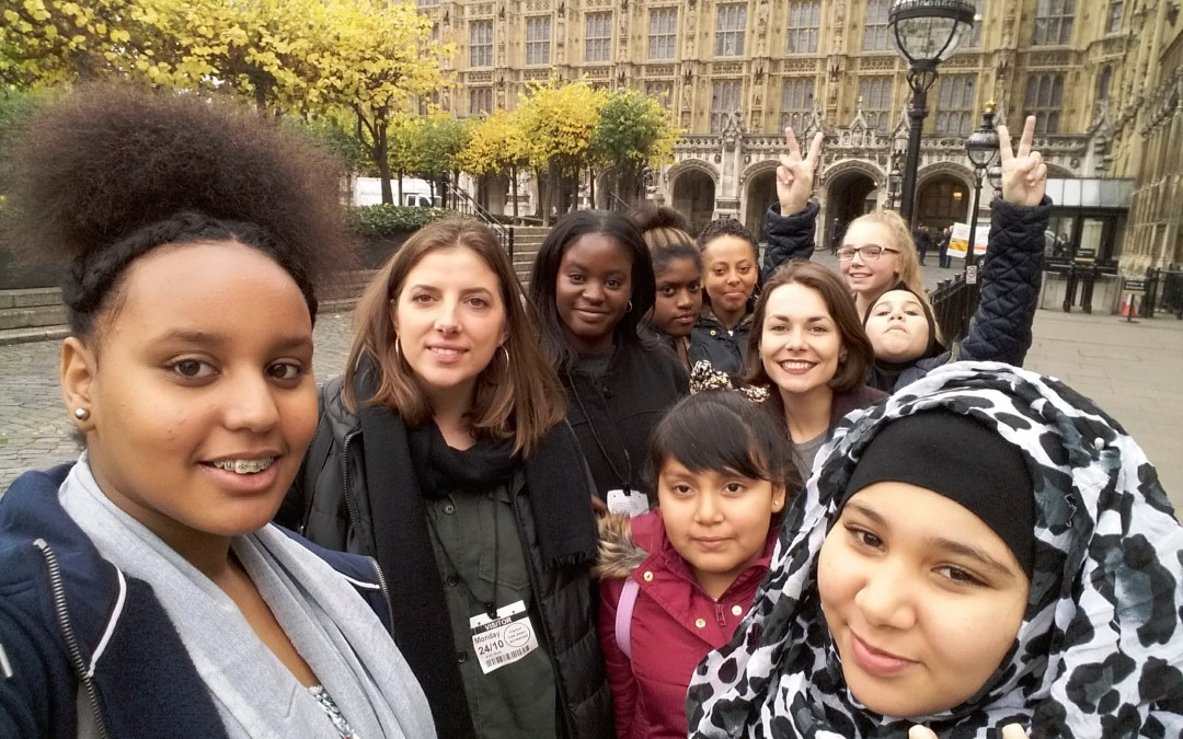 Baytree Girls visit Parliament
