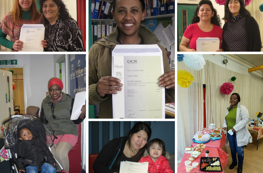 ESOL Certificate Celebration