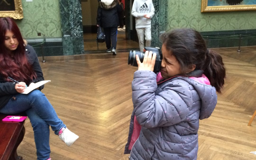 Into School's trip to the Institute of Contemporary Arts and National Gallery