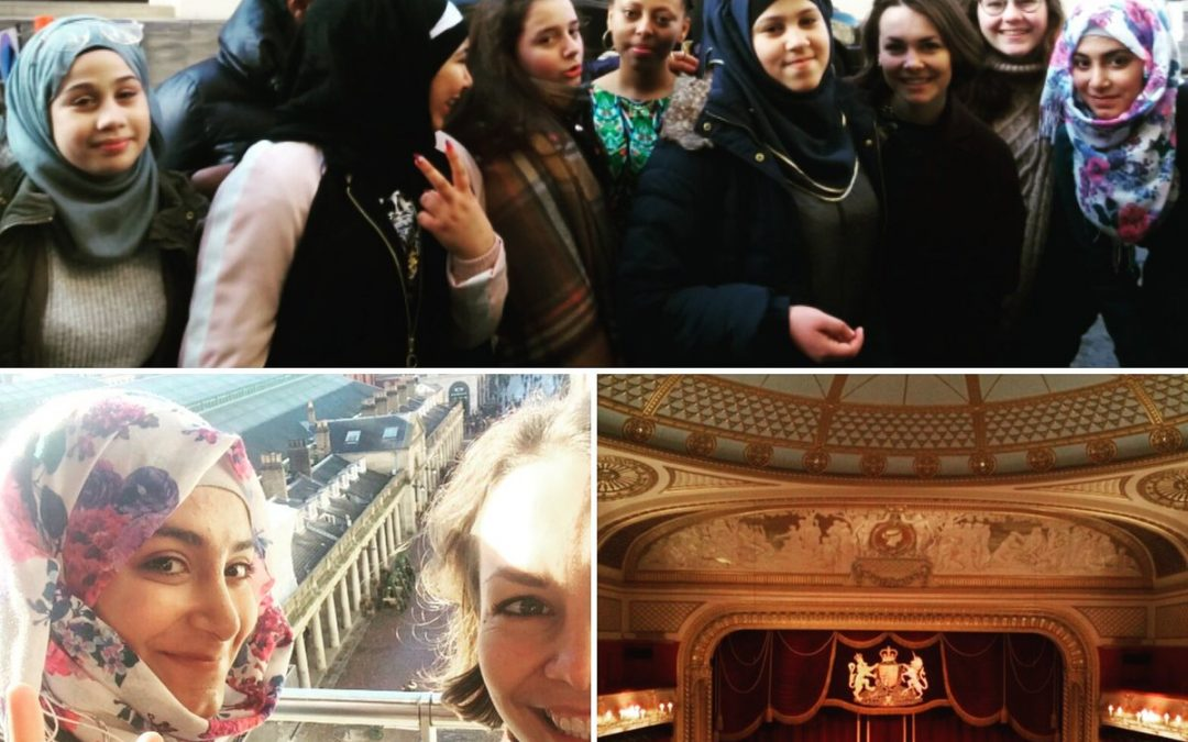 Spark's trip to the Royal Opera House