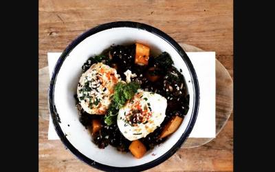 The Lido Cafe is supporting us with their Superfood Bowl #foodforchange