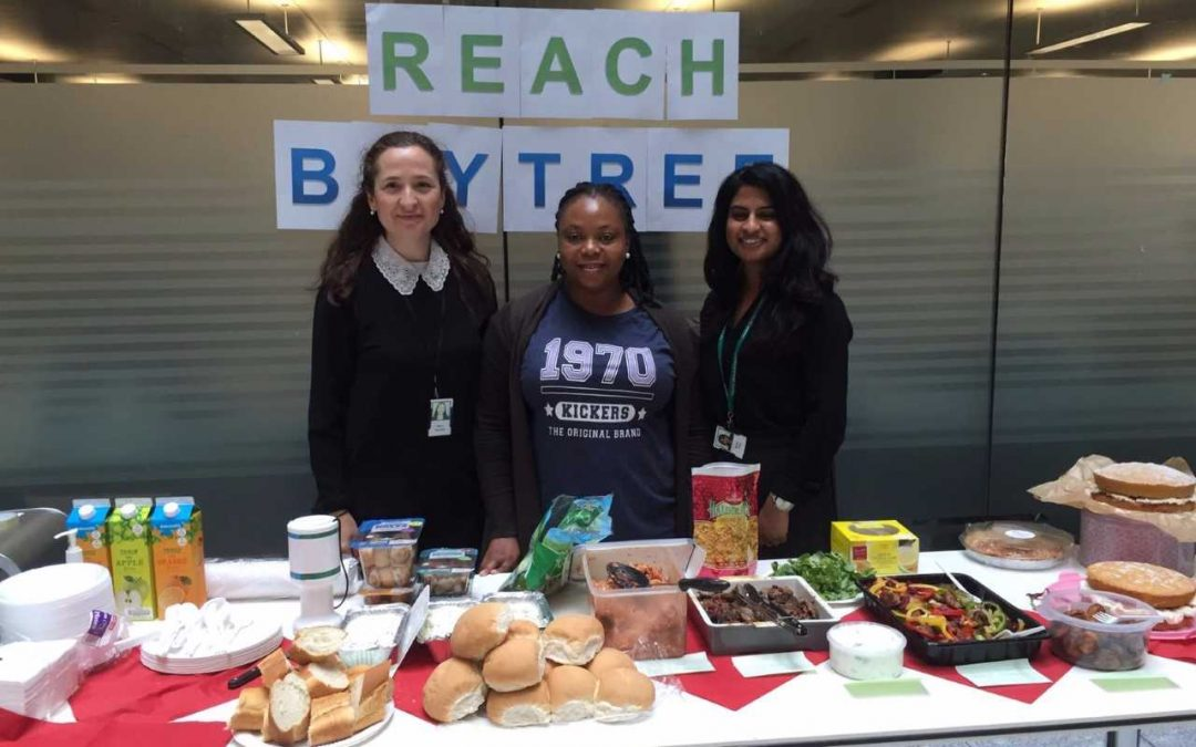 Lloyds employees raise money for Baytree