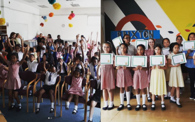 End of year award ceremony at Baytree!