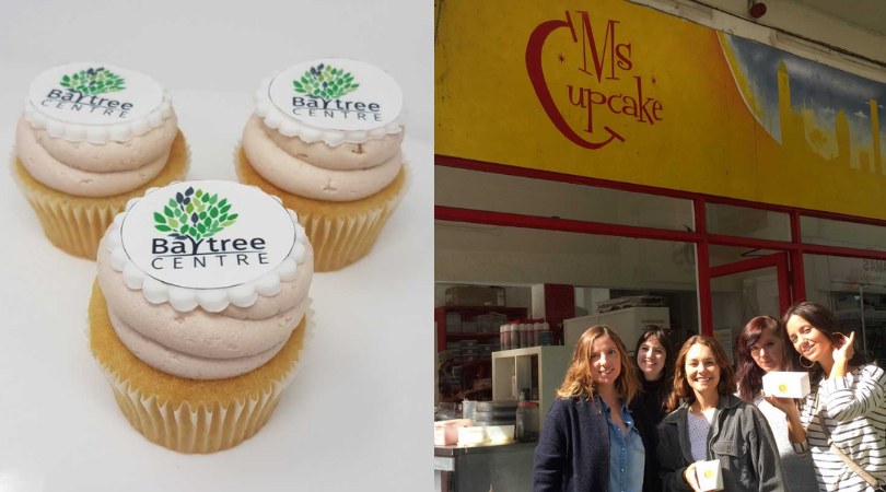 Our very own Baytree cupcake!