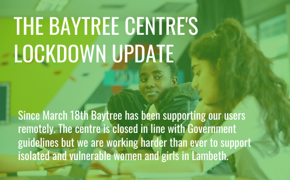 Find out more about how we have been remotely supporting our women and girls since lockdown.