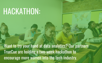 Interested in data analytics? TrueCue are hosting a hackathon to encourage more women into tech