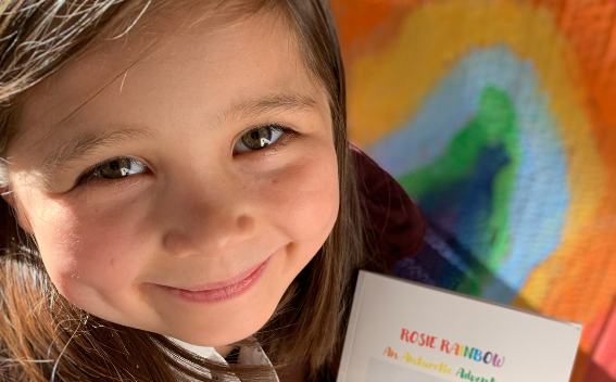 Young girl writes book and raises £3,417 for Baytree