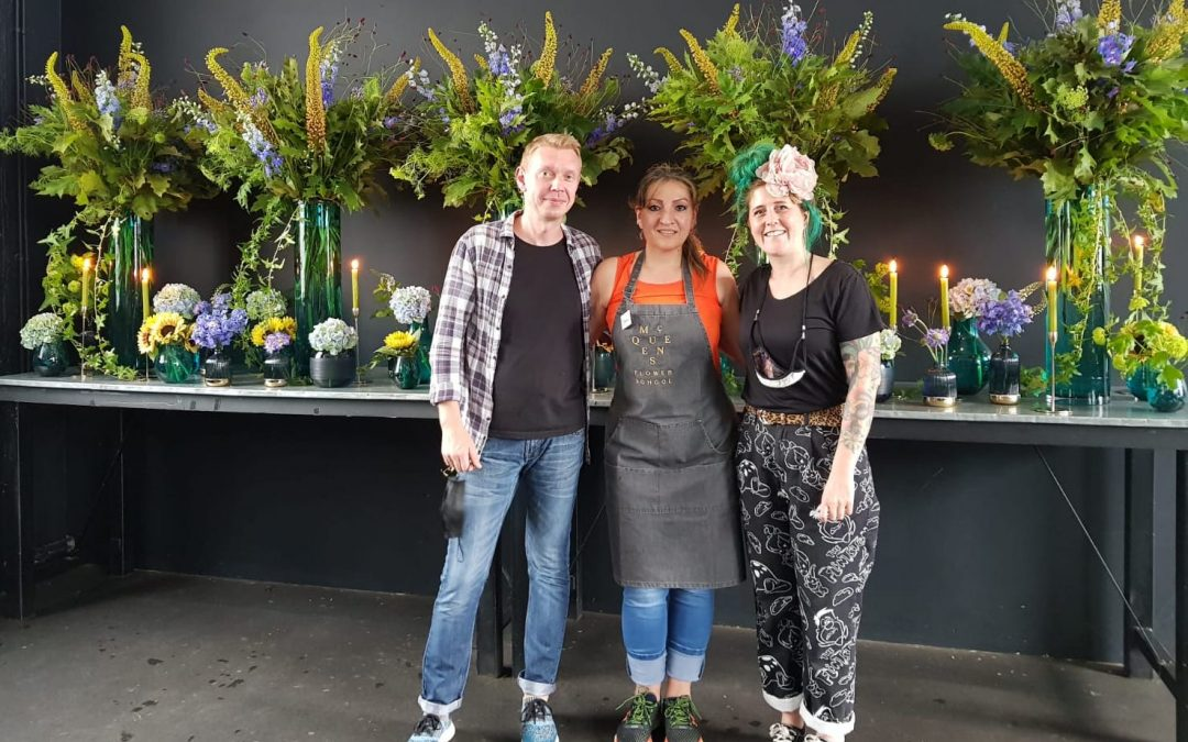 A flower arranging course has inspired a Baytree woman to follow her dreams of becoming a florist